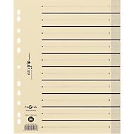PAGNA Easy Rip Trennblätter, DIN A4-Format, Linienaufdruck, 10 Stück, schwarz