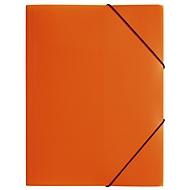 Pagna Eckspannmappe, DIN A4, aus PP, drei Innenklappen, orange