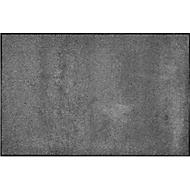 Paillasson IRON HOSE XL, pour l'intérieur, 850 x 1200 mm, argenté/noir