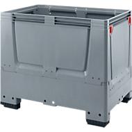 Palettenbox Big Box geschlossen, 4 Füße, 1200 x 800 x 1000 mm