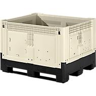 Palettenbox mit Füßen, klappbar, 565 Liter