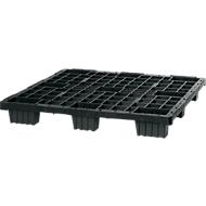 Pallet voor eenmalig gebruik, voor middelmatige lasten, L 1200 x B 800 x H 155 mm, 10 stuks