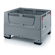 Palletbox Big Box gesloten, 4 poten, 1200 x 800 x 790 mm