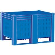 Palletbox, geperforeerd, 500 l, 32 kg