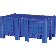 Palletbox, geperforeerd, 840 l