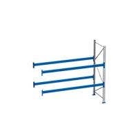 Palletstelling PR 600, aanbouwsectie, h 2500 mm, max. 800 kg, 2 lengtebalken