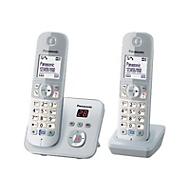 Panasonic KX-TG6822 - Schnurlostelefon - Anrufbeantworter mit Rufnummernanzeige + zusätzliches Handset