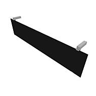 Paneel, acrylglas zwart, B 1440 mm