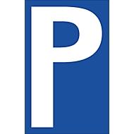 Panneaux de parking (Alu-Dibond), P