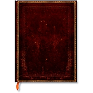 Paperblanks carnet noir marocain en cuir Ultra