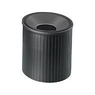 Papercliphouder Linear, zwart