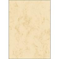 Papier à lettres «Marbre», beige, 90 g, 100 feuilles