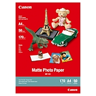 Papier photo CANON mat, 170 g/m2, 50 feuilles, A4