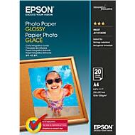 Papier photo Glossy Epson DIN A4, 20 feuil.