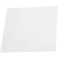 Papieren inserts voor deurbord Lyon, 150 x 150 mm, wit, 10 stuks