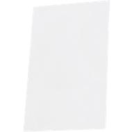 Papieren inserts voor deurbord Lyon, A6, wit, 10 stuks