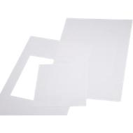 Papieren inserts voor deurbord Simplex, 148 x 210 mm