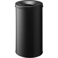 Papierkorb Safe, selbstlöschend, 60 L, schwarz