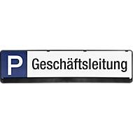 Parkeerbord, Directie
