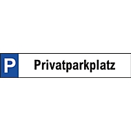 Parkplatzschild, Privatparkplatz
