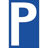 Parkplatzschilder, P-Schild
