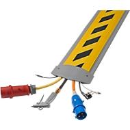 Passage de câble B25 EasyLoader Max, 1500 mm, gris/couvercle jaune/noir
