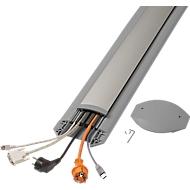 Passage de câbles B15 EasyLoader Flexi, 1500 mm, gris