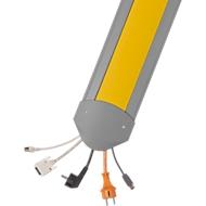 Passage de câbles B15 EasyLoader Flexi, 1500 mm, jaune