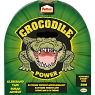 Pattex Crocodile Power Tape, L 3000 x B 48 mm, schwarz, temperaturbest. -10°C-+50°C
