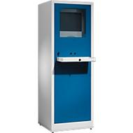 PC-Case Comfort lichtgrau/enzianblau