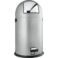 Pedaalafvalverzamelaar, staal, 22 liter
