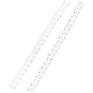 Peignes métal, Ibico, 6 mm, blanc