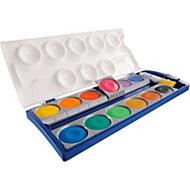 Pelikan Deckfarbkasten Schul-Standard, 12 Farben