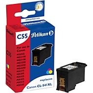 Pelikan inktcassette identiek in constructie aan CL-541XL, driekleurige inktcassette