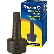 Pelikan stempelinkt, Applicatorflesje, 28 ml, zonder olie, zwart