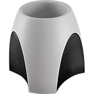 Pennenhouder HAN DELTA, antislip, schuimstof binnenkant, polystyreen, grijs-zwart