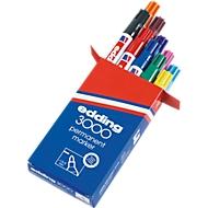 Permanent marker edding 3000, diverse kleuren