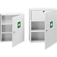 Petite armoire à pharmacie, vide, l. 400 x H 455 mm