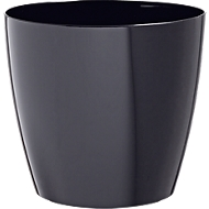 Pflanzentopf schwarz, Ø 200 mm, 2 St.