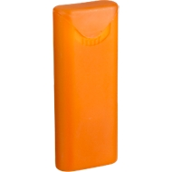 Pflasterbox Care Card, orange/gefrostet