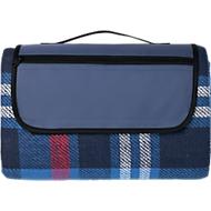 Picknickdecke, aus Acryl, Unterseite beschichtet, RV-Fach, Tragegriff