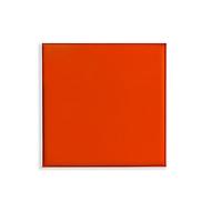 Plafondpanelen colorPAD®, voor systeemplafonds, B 620 x D 620 x H 17 mm, oranje, glad