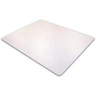 Plaque de protection pour moquettes, transparent, 750 x 1190 mm