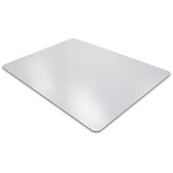 Plaque de protection pour sols durs, transparent, 750 x 1190 mm