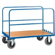 Plateauwagen, met 2 stalen beugels, l 1000 x b 700 mm