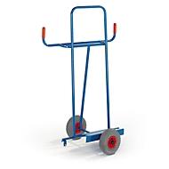 Platenwagen voor lange goederen, luchtbanden
