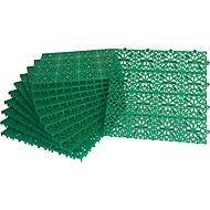 Platten Yoga Rost, grün, 11 Stück