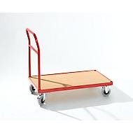 Plattformwagen mit Schiebegriff, 1000 x 600 mm