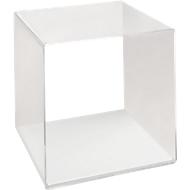 Plexiglas kubus, glashelder