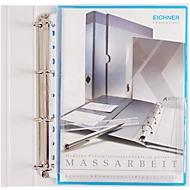 Pochettes avec un pli à soufflet, DIN A4, transparent